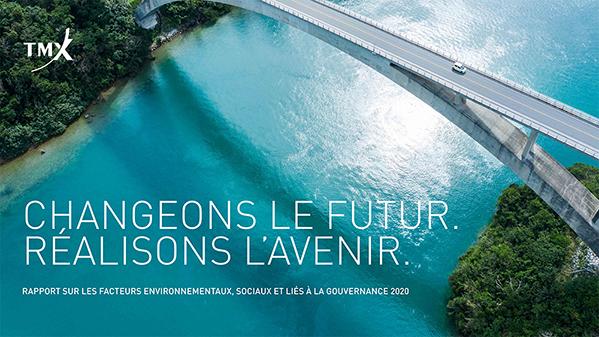 Rapport sur les facteurs environnementaux, sociaux et relatifs à la gouvernance (ESG) pour 2020