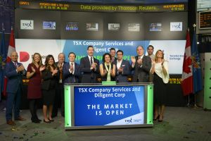 TSX Company Services and Diligent Corp. Open the Market
