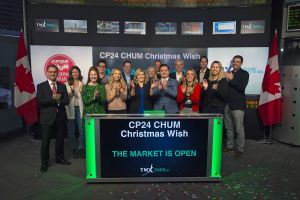 CP24 CHUM Christmas Wish Opens the Market