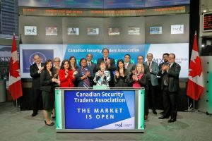 Canadian Security Traders Association Opens the Market