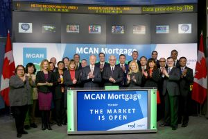 MCAN Mortgage Corporation Opens the Market