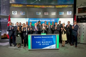 Euromax Resources Ltd. Opens the Market