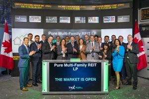 Pure Multi-Family REIT LP Opens the Market