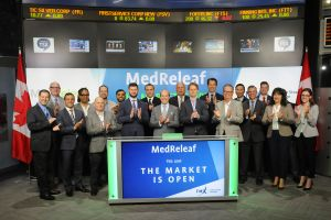 MedReleaf Corp. Opens the Market
