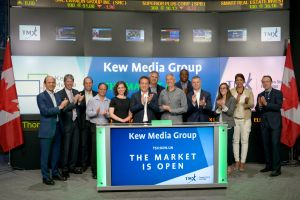 Kew Media Group Inc. Opens the Market