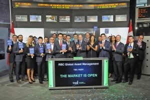 RBC Global Asset Management Opens the Market