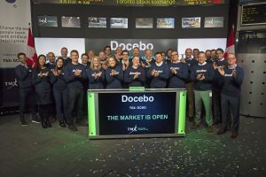 Docebo Inc. Opens the Market