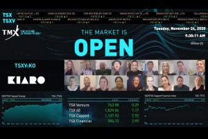 Kiaro Holdings Corp. Virtually Opens The Market