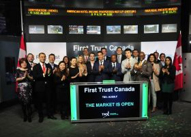 First Trust Canada Opens the Market