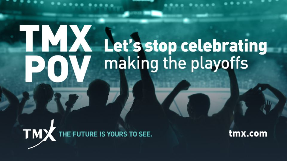 TMX POV - Let's stop celebrating making the playoffs