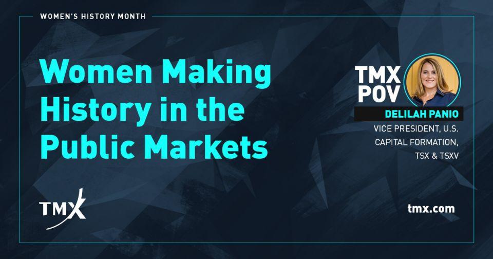 TMX POV - Women Making History in the Public Markets