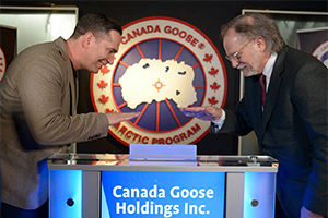 Canada Goose Celebrates Listing on Toronto Stock Exchange